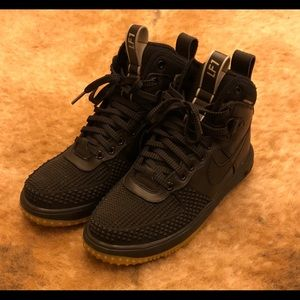 sports shoes 166c0 9be90 Nike Shoes - Air Force One Lunar Duck Boots